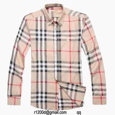 9de97a91ae81 burberry 2018 d hiver Soldes homme Prix Paris achat chemise Ig7CCwq