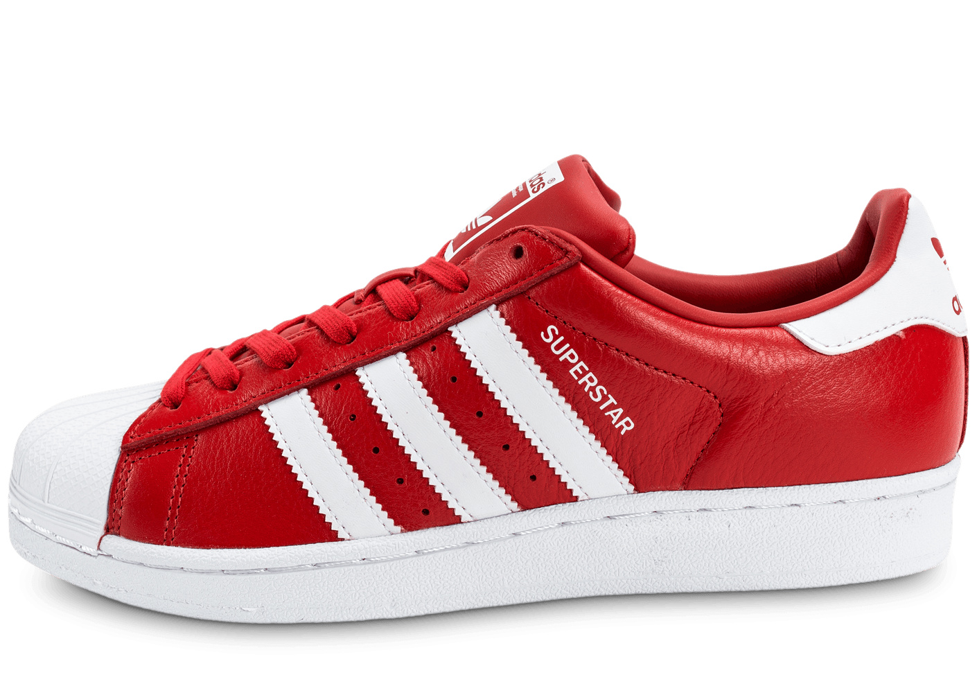 adidas superstar rouge noir