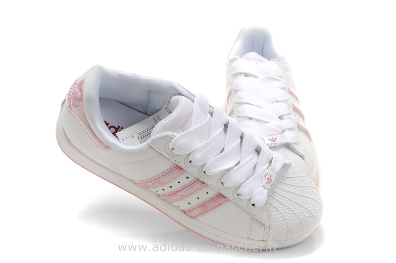 chaussure adidas superstar rose